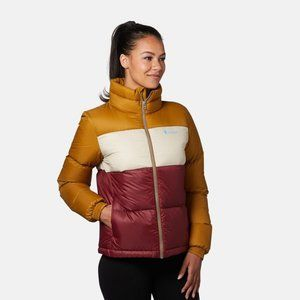 Cotopaxi Solazo Down Jacket in Bronze & Port XL